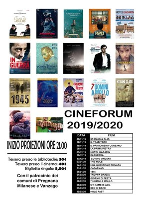 cineforum 1920