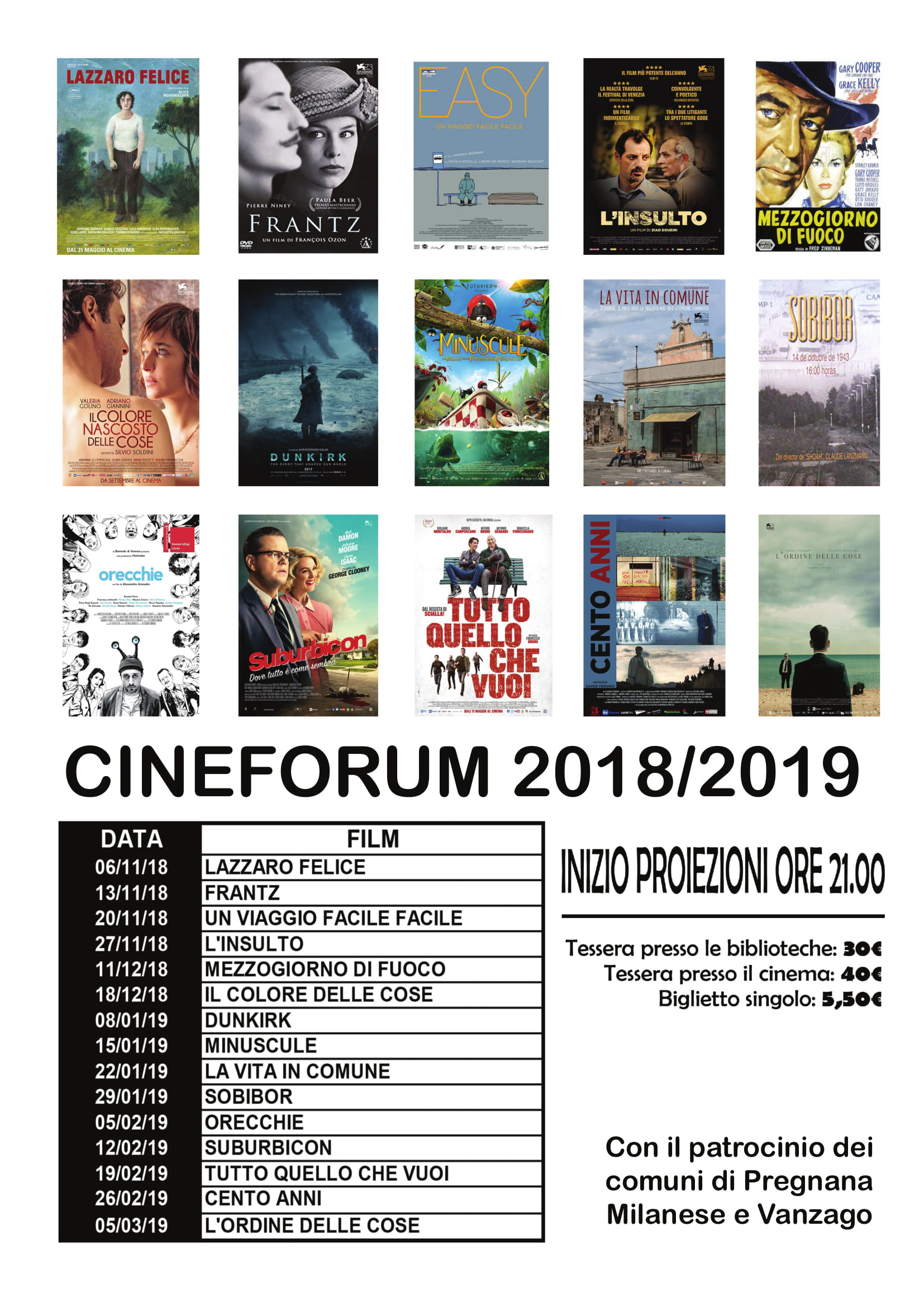 Cineforum 18 19
